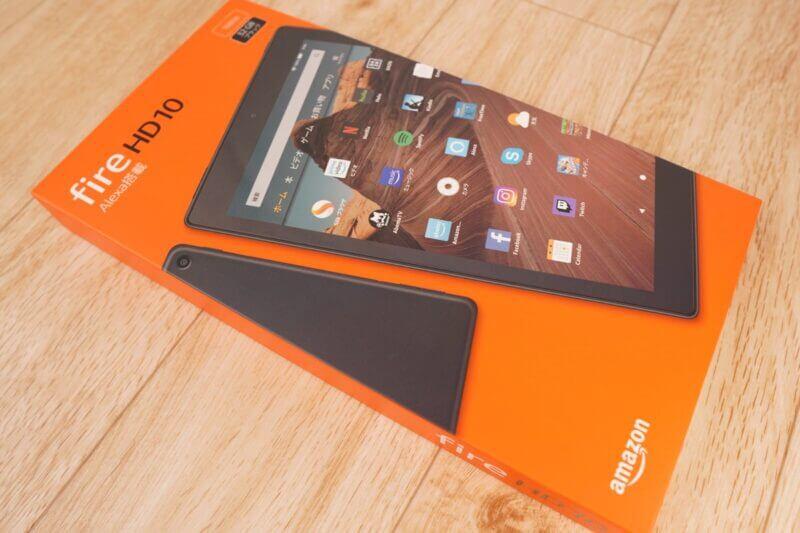Amazon Fire HD 10|外観とデザイン