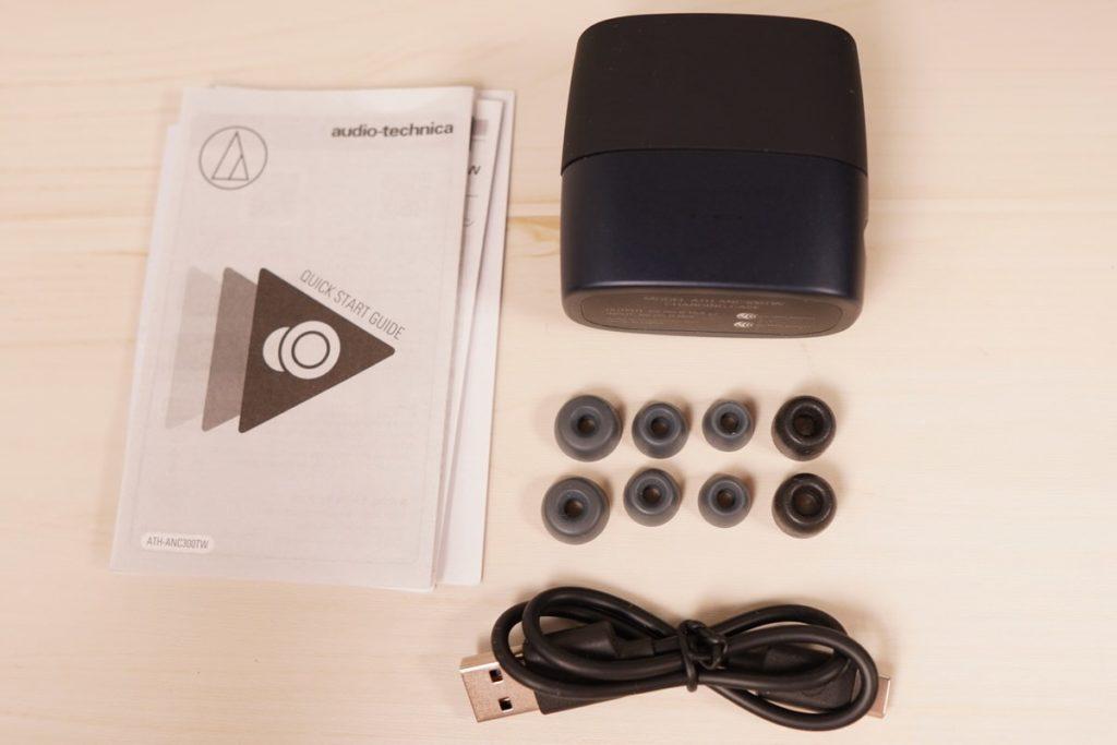 ATH-ANC300TW|外観とデザイン