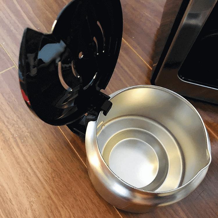 シロカ 全自動コーヒーメーカーはステンレスサーバー